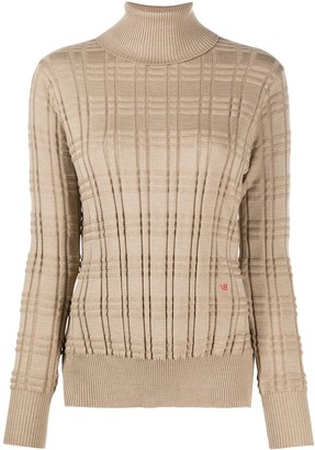 Victoria Beckham Roll Neck Long-Sleeved Jumper