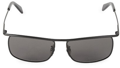 Thumbnail for your product : Celine 58MM Square Metal Sunglasses