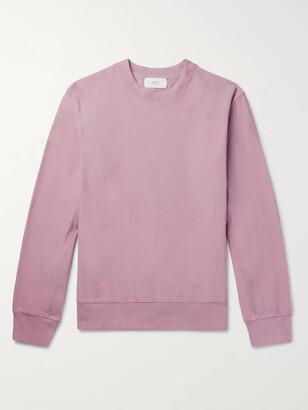 Mr P. Garment-Dyed Loopback Cotton-Jersey Sweatshirt