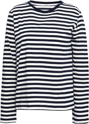 Zimmermann Striped Cotton-jersey Top
