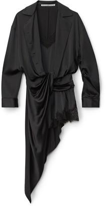 Collection Draped Hybrid Slip Dress