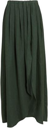 SABLYN Asher Linen Midi Skirt