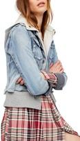 Free People Women's Double Weave Denim Jacket