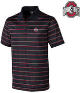 Cutter & Buck Men's Ohio State Buckeyes Venture Stripe Polo