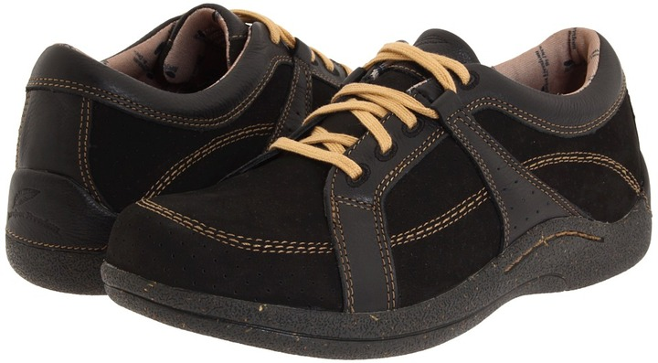 DREW Geneva (Black Leather/Nubuck) - Footwear