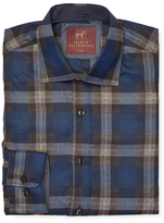 James Tattersall Exploded Checkered Plaid Sportshirt