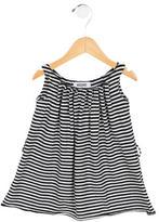 Moschino Girls' Striped Crew Neck Dress