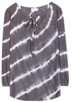 Velvet Edana Cotton And Silk-blend Blouse