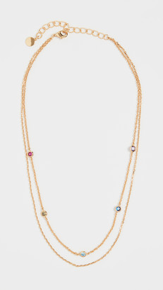 Jules Smith Designs Crimson Chain Choker