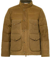 Filson Cruiser Quilted Water-repellent Cotton-canvas Down Jacket - Tan