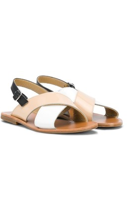Gallucci Kids color-block strap sandals