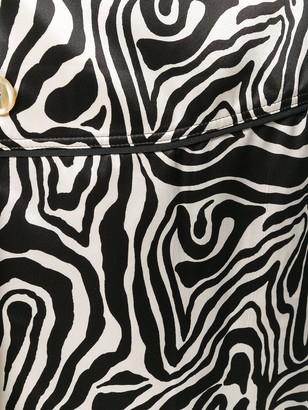 Marni Printed Wrap Skirt