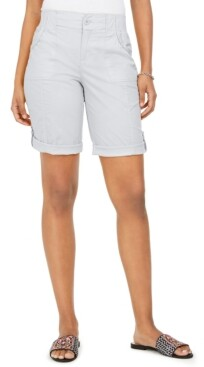 Style&Co. Style & Co Roll-Tab Bermuda Shorts, Created for Macy's