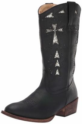 Roper Women's Glitter Cross Fashion Boot