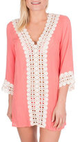 California Moonrise Crochet Front Tunic