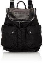 Felisi Men's Top-Zip Backpack-BLACK