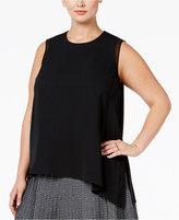 Rachel Roy Curvy Plus Size Layered Blouse