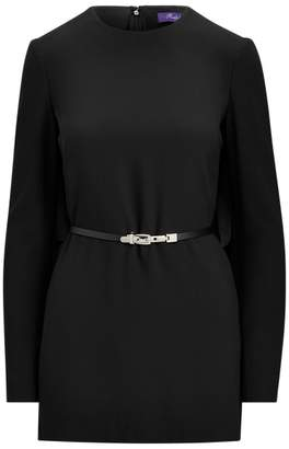 Ralph Lauren Avianna Cady Belted Cape Top