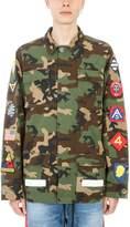 Off-White Jack Stof Camouflage Cotton Jacket