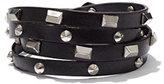 New York & Co. Studded Faux Wrap Bracelet