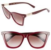 MCM Women's 57Mm Retro Sunglasses - Blonde Havana