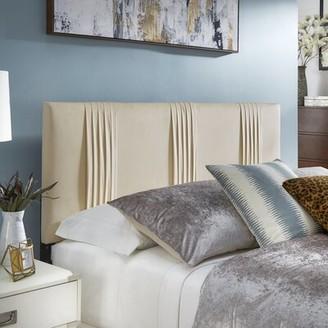House Of Hamptonâ® Larkin Queen Upholstered Panel Headboard House of HamptonA