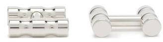 Alice Made This - Lapworth Rhodium-plated Cufflinks - Mens - Silver