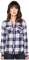 Roxy Squary Cool Long Sleeve Flannel Shirt