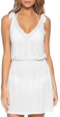 Becca by Rebecca Virtue Breezy Basics Tie-Shoulder Cover-Up Dress