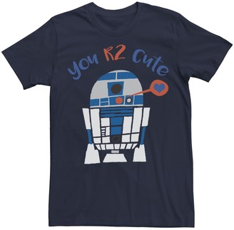 Star Wars Men's R2-D2 Too Cute Valentine's Day Tee