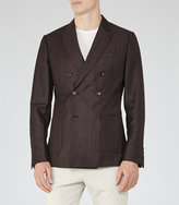 Reiss Lamella Double-Breasted Blazer