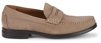 Johnston & Murphy Chadwell Suede Penny Loafers