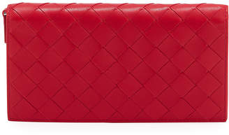 Bottega Veneta Full Flap Napa Intrecciato Wallet