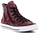 Converse Chuck Taylor(R) All Star(R) Dual Zip Genuine Leather High Top Sneaker (Women)