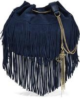 Diane von Furstenberg Fringed Suede Shoulder Bag