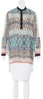 Clover Canyon Printed High-Low Tunic