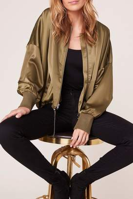 BB Dakota On-Duty-Satin Bomber Jacket