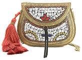 Sam Edelman Yaro Tasseled Embellished Cross-Body Bag