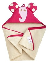 3 Sprouts Newborn/Infant Hooded Towel - Elephant