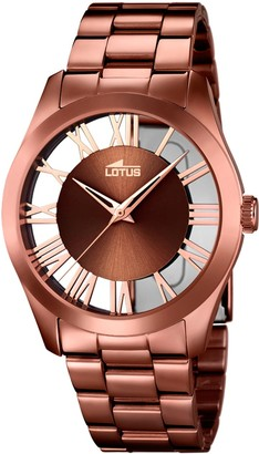 Lotus Womens Analogue Quartz Watch with Stainless Steel Strap 18125/1