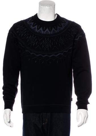 Gucci Ethnic Embroidered Sweatshirt w/ Tags