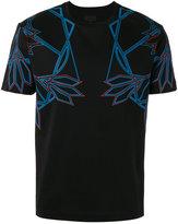 Les Hommes line print T-shirt - men - Cotton - S