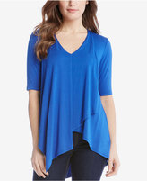 Karen Kane Draped T-Shirt