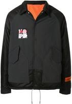 Heron Preston ctnmb embroidered coach jacket