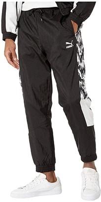 Puma Tailored for Sport OG All Over Print Track Pants Black) Men's Casual Pants