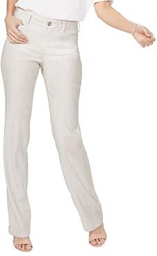 NYDJ Petites Stretch Linen Trousers