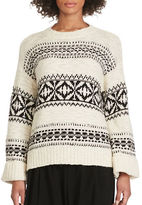 Polo Ralph Lauren Geometric Wool-Blend Sweater