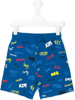 Stella McCartney printed shorts - kids - Cotton - 5 yrs