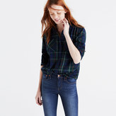 Madewell Flannel Ex-Boyfriend Shirt in Ontario Plaid