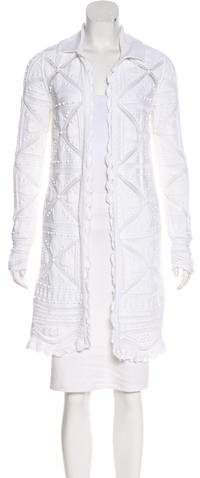 Chanel Knit Open-Front Cardigan